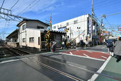 東急大井町線・九品仏駅の様子。(2016-12-08,共用部,ENVIRONMENT,1F)