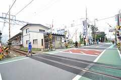 東急大井町線・九品仏駅の様子。(2015-07-02,共用部,ENVIRONMENT,1F)