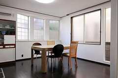 シェアハウスのリビングの様子2。(2011-01-25,共用部,LIVINGROOM,1F)