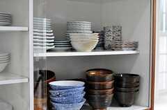 食器棚の様子。(2011-01-25,共用部,OTHER,1F)