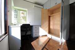 収納の様子。(201号室)(2011-01-25,専有部,ROOM,2F)