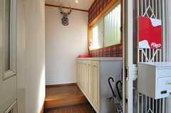 玄関から見た内部の様子。(2013-09-09,周辺環境,ENTRANCE,1F)