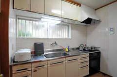 キッチンの様子。(2011-02-18,共用部,KITCHEN,1F)