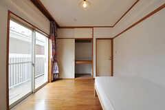 収納の様子。(205号室)(2011-02-18,専有部,ROOM,2F)