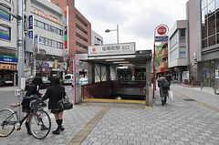 東急田園都市線・桜新町駅の様子。(2011-02-18,共用部,ENVIRONMENT,1F)