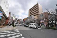 東急田園都市線・桜新町駅周辺の様子。(2011-02-18,共用部,ENVIRONMENT,1F)