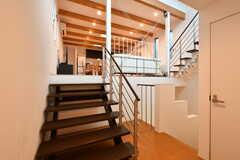 階段の様子3。(2015-03-24,共用部,OTHER,2F)