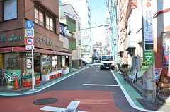 近くの商店街の様子。(2016-02-26,共用部,ENVIRONMENT,1F)
