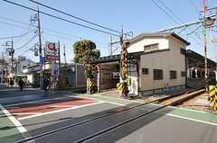 東急大井町線・九品仏駅の様子。(2014-03-24,共用部,ENVIRONMENT,1F)