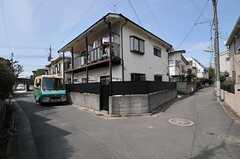 シェアハウス周辺は住宅地です。(2014-04-01,共用部,ENVIRONMENT,1F)