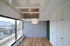 ロフトの様子。(204号室)(2011-09-08,専有部,ROOM,2F)