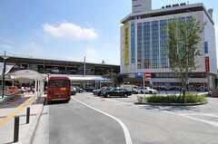 各線・自由が丘駅前の様子。(2011-09-08,共用部,ENVIRONMENT,1F)