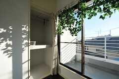 収納の様子。(303号室)(2012-01-06,専有部,ROOM,3F)