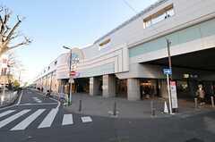 小田急線祖師ヶ谷大蔵駅の様子。(2012-01-06,共用部,ENVIRONMENT,1F)
