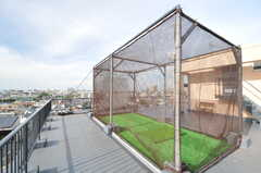屋上に打放場があります。(2013-10-04,共用部,OTHER,6F)
