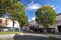 小田急小田原線・梅ヶ丘駅の様子。(2013-10-16,共用部,ENVIRONMENT,1F)