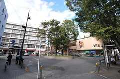 小田急小田原線・梅ヶ丘駅前の様子。(2013-10-16,共用部,ENVIRONMENT,1F)