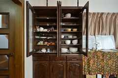 食器棚の様子。(2016-03-30,共用部,LIVINGROOM,1F)