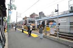 東急大井町線・等々力駅の様子。(2016-03-30,共用部,ENVIRONMENT,1F)