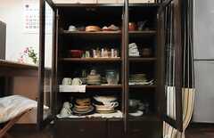 食器棚の様子。(2010-09-24,共用部,OTHER,2F)