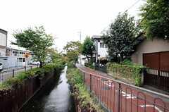 東急田園都市線・用賀駅まで向かう道の様子。(2010-09-24,共用部,ENVIRONMENT,2F)