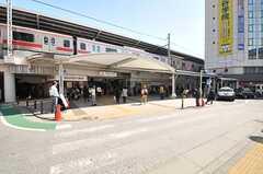各線・自由が丘駅の様子。(2014-03-24,共用部,ENVIRONMENT,1F)