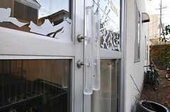 ドアハンドルの様子。(2011-12-13,周辺環境,ENTRANCE,1F)