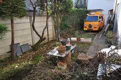庭の様子1。(2011-12-13,共用部,OTHER,1F)