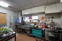 キッチンの様子。(2011-12-13,共用部,KITCHEN,1F)