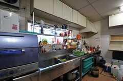 キッチンの様子2。(2011-12-13,共用部,KITCHEN,1F)