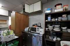 キッチン家電の様子。(2011-12-13,共用部,KITCHEN,1F)