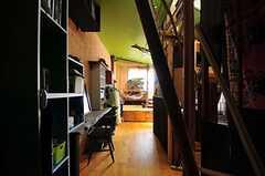 ドミトリーの様子。(204号室)(2011-12-13,専有部,ROOM,2F)