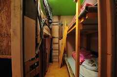 ドミトリーの様子6。(204号室)(2011-12-13,専有部,ROOM,2F)