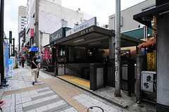 東急田園都市線・駒沢大学駅の様子。(2011-12-13,共用部,ENVIRONMENT,2F)