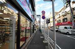 東急田園都市線・駒沢大学駅からシェアハウスへ向かう道の様子。(2011-12-13,共用部,ENVIRONMENT,2F)