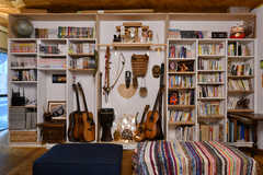 本棚の様子。(2021-06-08,共用部,LIVINGROOM,1F)