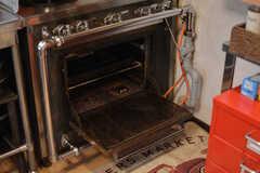 オーブンの様子。(2021-06-08,共用部,KITCHEN,1F)