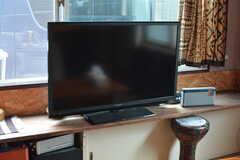共用TVの様子。(2021-06-08,共用部,TV,1F)