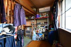 ドミトリーの様子6。備品は入居者さんの私物です。(204号室)(2021-06-08,専有部,ROOM,2F)