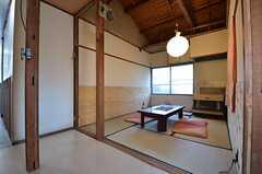リビングの様子2。和室です。(2014-12-18,共用部,LIVINGROOM,2F)