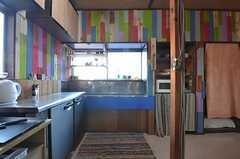 キッチンの様子2。(2014-12-18,共用部,KITCHEN,2F)
