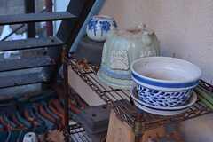 さり気なく置かれている鉢がいい雰囲気です。(2014-12-18,共用部,OTHER,1F)