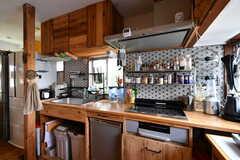 キッチンの様子3。(2021-06-08,共用部,KITCHEN,2F)