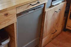 食器洗浄機の様子。(2021-06-08,共用部,KITCHEN,2F)