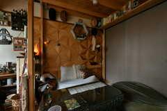専有部の様子4。備品は入居者さんの私物です。(203号室)(2021-06-08,専有部,ROOM,2F)