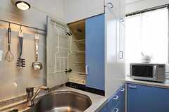 食器乾燥機の様子。(2011-06-03,共用部,KITCHEN,2F)