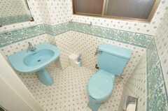 トイレの様子。(2009-09-15,共用部,TOILET,2F)