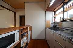 キッチンの様子。(2015-06-08,共用部,KITCHEN,1F)