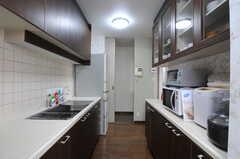 キッチンの様子2。(2012-03-08,共用部,KITCHEN,3F)