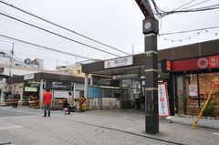 東急大井町線・尾山台駅の様子。(2012-03-08,共用部,ENVIRONMENT,1F)